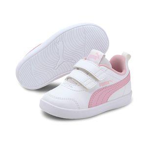 Puma Kinder Courtflex v2 v INF Sneaker Turnschuhe , Größe:EUR 24 / UK 7 / 15 cm