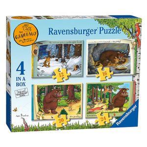 4 in 1 Puzzle Box | Der Grüffelo | Ravensburger | Kinder Puzzle