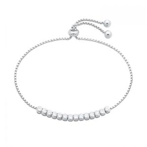 JOOP! Armband Sterling Silber 925/- mit synth. Zirkonia 25 cm