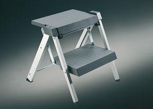 Hailo Stepfix. Klapptritt, Aluminium