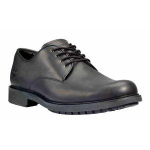 Timberland Stormbuck Plain Toe Oxford Shoes Smooth Black EU 42
