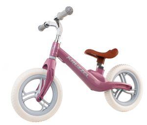 Laufrad Mädchen Jungen ab 1 Jahr 12 Zoll Eva Schaumräder einstellbar  10301, Farbe:Rosa/ pink