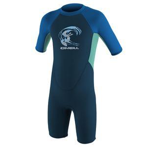 Oneill Wetsuits Reactor Spring 2 Mm Toddler Slate / Ltaqua / Ocean 2