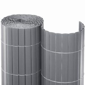 Noor Sichtschutzmatte PVC Sichtschutz Kunststoff, ca. Größe 1,60x3 m Farbesilber; 15516X03MSI