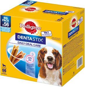 Pedigree Denta Stix Daily Oral Care MP - Zahnpflege Hundeleckerli für mittelgroße Hunde 10-25kg (56 Stück) 1.460 g