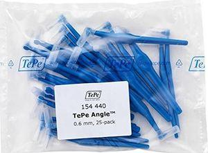 TePe Angle Interdentalbürsten 25 Stück Packung blau 0,6mm