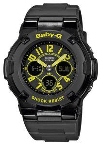 Casio Damenuhr Baby-G Uhr BGA-117-1B3ER AnaDigi Armbanduhr