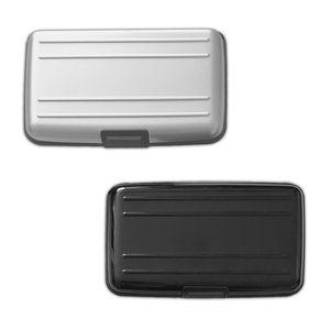 2er Set RFID Schutz Aluminium Kartenetui   Alu Kreditkartenetui   EC Karten Etui