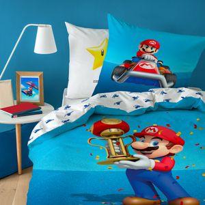 Bettwäsche Nintendo Mario Kart 135 x 200cm 100% Baumwolle