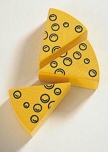 Haba spielzeug Lebensmittel Holz 7 cm Käsespitze