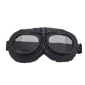 Retro Motorradbrille Motorrad Roller Brille Radsport Augenschutz Staubgeschš¹tzt