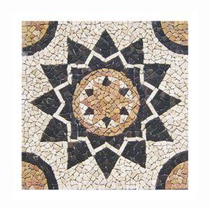 Mosaikfliesen RO-001 Marmor Rosone   Naturstein Fliesen Lager Verkauf Stein-Mosaik Herne NRW