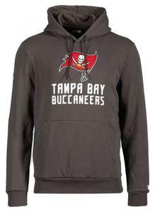 New Era - NFL Tampa Bay Buccaneers Team Logo and Name Hoodie - Dunkelgrau : Schwarz Dunkelgrau M