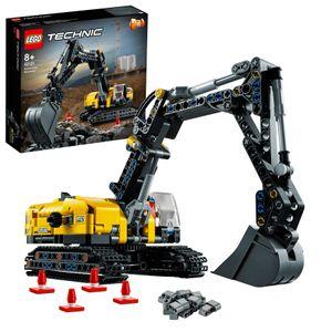 LEGO 42121 Technic Hydraulikbagger - Traktor 2-in-1 Modell, Bagger Baufahrzeug, Geschenk für Kinder ab 8 Jahren, kreatives Spielzeug