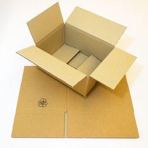 25 Versandkartons Kartons Faltkartons 200x150x90mm