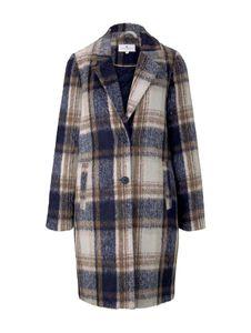 Tom Tailor Damen Jacke 1020585 Navy Sand Cozy Check