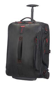 Samsonite Paradiver Light Duffle/WH 55/20 Backpack Black 747801041 Reisetasche mit Rollen Weichgepäck