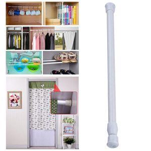 Kleine vorhang stangen metall beladene stange für badezimmer schrank garderobe 55-90cm Modern Duschvorhangstangen Durchmesser 1,3 cm