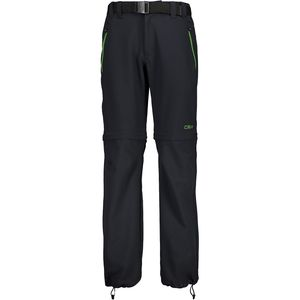 Cmp Boy Pant Zip Off Anthracite / Ivy 8 Years