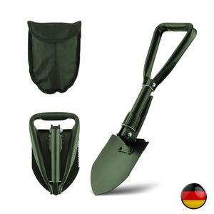 KLAPPSPATEN BW Tasche Bundeswehr Spaten Outdoor Schaufel Hacke Schüppe Säge,Klappschaufel Multifunktional