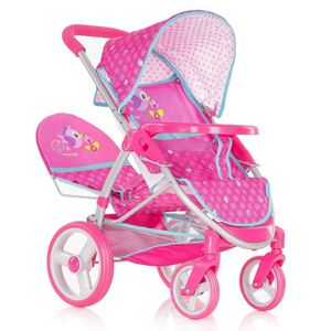 Hauck Geschwister Kinder Puppenwagen Rose Puppen Sportwagen Kinderwagen Set