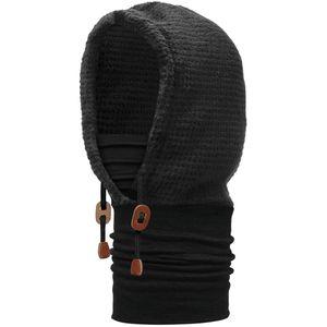 BUFF Polar Thermal Hoodie Kapuzen-Schlauchschal solid black
