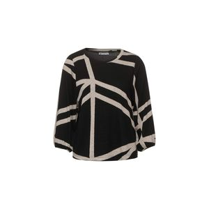 Street One Damen Langarmshirt A315629 Black