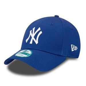 New Era Cap 9FORTY League Basic NY Yankees Lry/White, Cap:OSFA