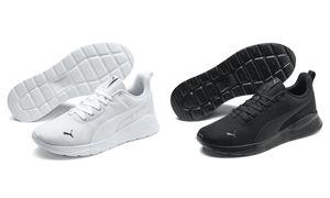 Puma Herren Sneaker Sneaker Low Textil schwarz 45