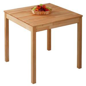 Krok Wood Esstisch Tomas aus Massivholz in Buche 75x75x75 cm
