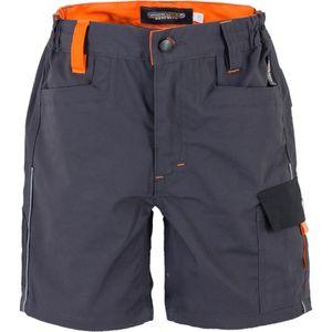 Terrax TTJ Kinder Short grau/schwarz/orange Gr. 116