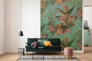 """Komar Vlies Fototapete """"Orient Ros'"""" - Größe: 200 x 270 cm (Breite x Höhe) - 4 Bahnen"""