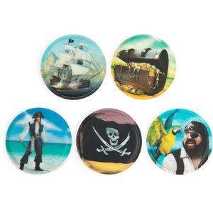 ergobag Kletties 5tlg. Set Accessoires Klettbilder mit Poster Piraten