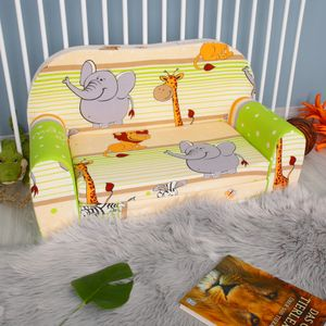 Kindersofa Kindersessel Minisofa Klappsofa Kindercouch Baumwolle Modell 5