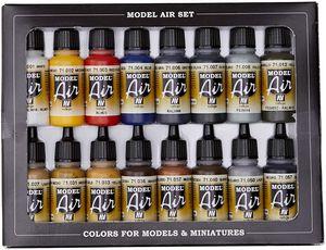 Vallejo Model Air   16er Set   Basic