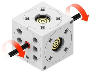 Tinkerbots 01012 - Motor Erweiterungsset, Baukasten 4251161801012