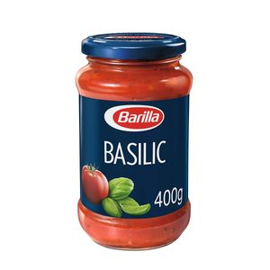 Barilla Pasta Sauce Basilico Italienische Tomaten und Basilikum 400g