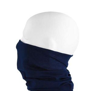 Oblique Unique Multifunktionstuch Schlauchtuch Halstuch Motorrad - Dark Blue