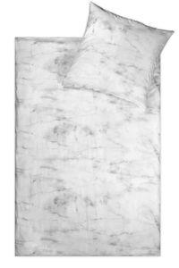 "jilda-tex Bettwäsche Linon ""Soft Marble"" 2tlg. 135x200cm + 80x80cm"