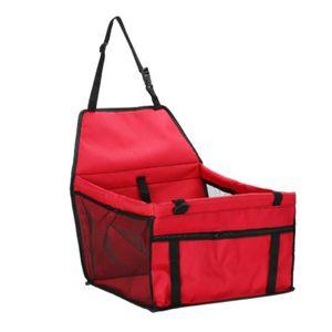 Autositz für Hund (40 × 34 × 25 cm) Rot