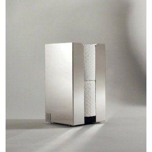 Toilettenrollenhalter, Ersatzrollenhalter für 2 Rollen (stehend)