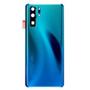 Akkudeckel für Huawei P30 Pro mit Kamera Linse Backcover Akkufachdeckel Rückseite Rückschale Gehäuse Blau