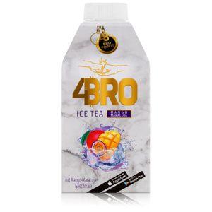 4BRO Ice Tea Eistee Mango Maracuja 500ml - Erfrischungsgetränk (1er Pack)