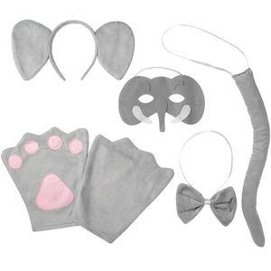 dressforfun Accessoires-Set Elefant - Kinder