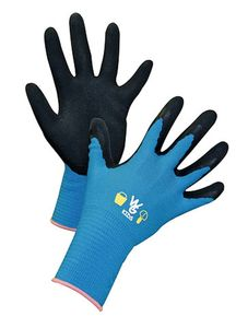 Kerbl Kinderhandschuh Towa Aquamarin 8-11 Jahre, Latexbeschichtet