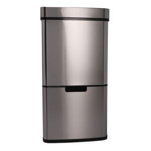 72 L Automatik Mülleimer Abfalleimer Sensor Recycling Mülleimer Kücheneimer mit Infrarotsensor