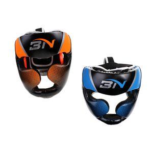 2 Stücke Boxen MMA Schutzausrüstung Kopfbedeckungen    Kampf Kopfschutz Sparring Helm