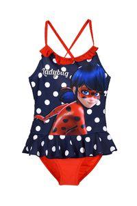 Miraculous Ladybug Kinder Mädchen Badeanzug Bademode Blau Gr. 104