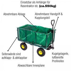 Grafner® Gartenwagen Transportwagen 550 kg GW10740