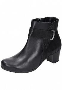 Comfortabel Damen Stiefel bis 20 cm Höhe/Absatz Schuhe schwarz